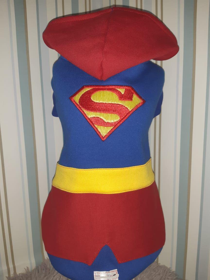 Blusa Moletom para Cachorro -  Super Homem