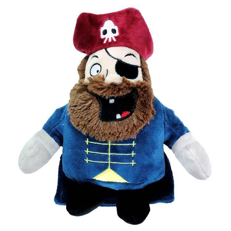 Mordedor para cachorro Pelucia Pirata Premium