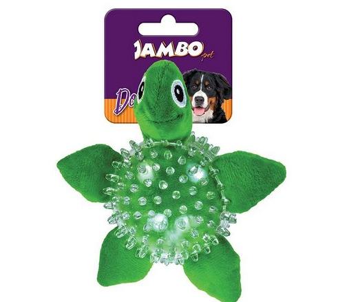 Mordedor De Pelúcia Spike Ball Tartaruga