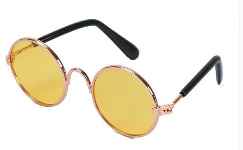 Óculos de Sol com Lente Amarelo