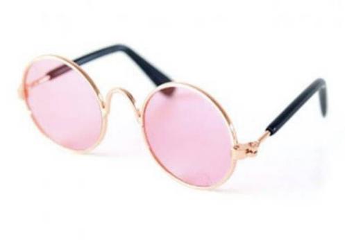 Óculos de Sol com Lente Rosa