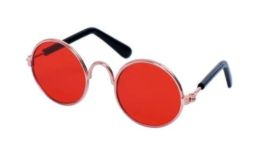 Óculos de Sol com Lente Vermelho