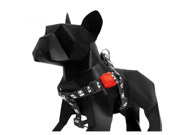 Peitoral para cachorros H Skull - Zeedog