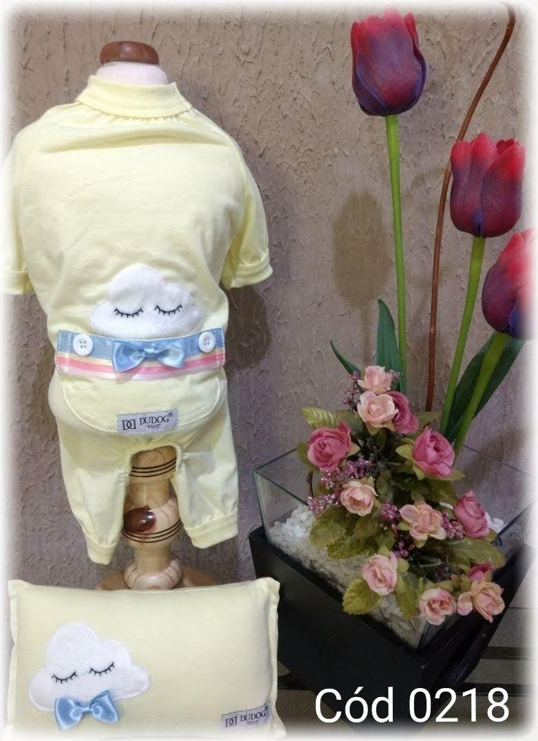 Pijama para Cachorro Macho - Arco Iris