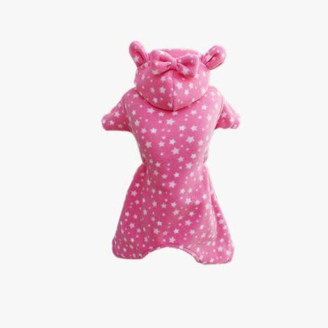 Pijama Soft Estrela Rosa