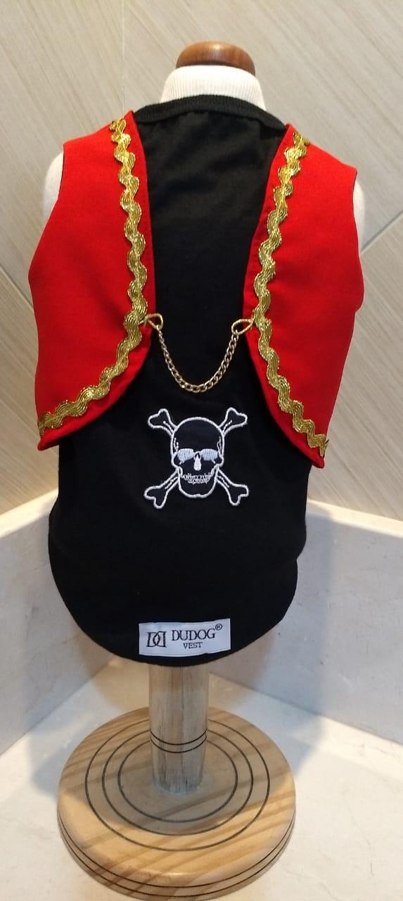Fantasia para Cachorro Camisa Pirata