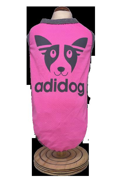 Regata Adidog Rosa -Proteção UV 50
