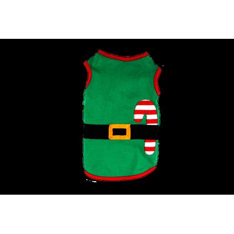 Regata para Cachorro Ajudante Papai Noel Natal
