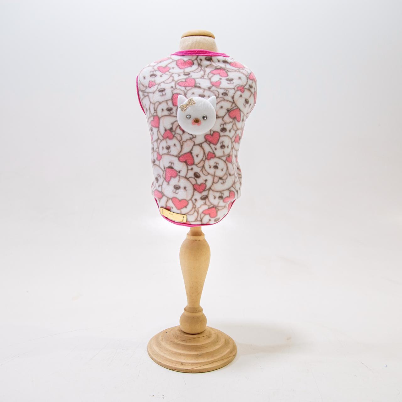Roupa De Soft- Lilica- Rosa