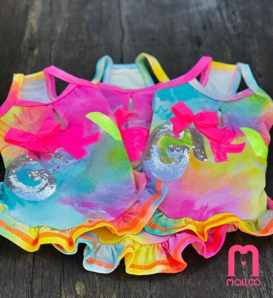 Roupa Tie Dye Colors
