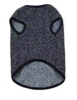 Casaco Tweed para Cachorro Preto