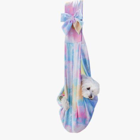 Bolsa Sling para Transporte de Cachorro - Tie Dye