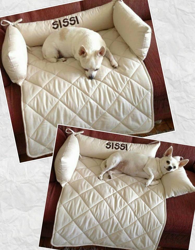 Tapete de Cachorro para Sofá Personalizado com Nome