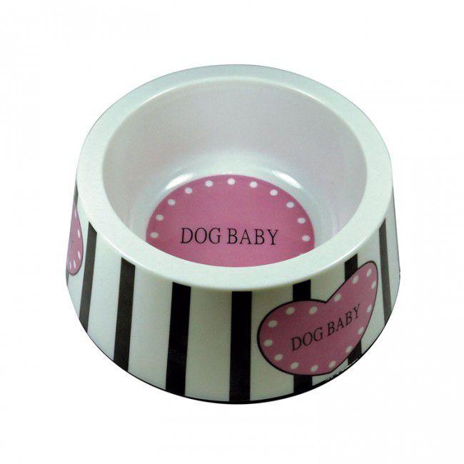 Tigela Plástica Dog Baby jambo