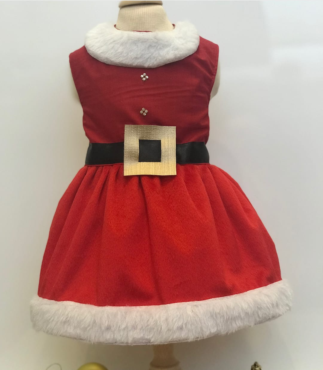 Vestido Mamãe Noel Natal
