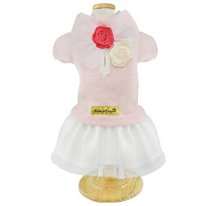 Vestido Bouclê Rosa