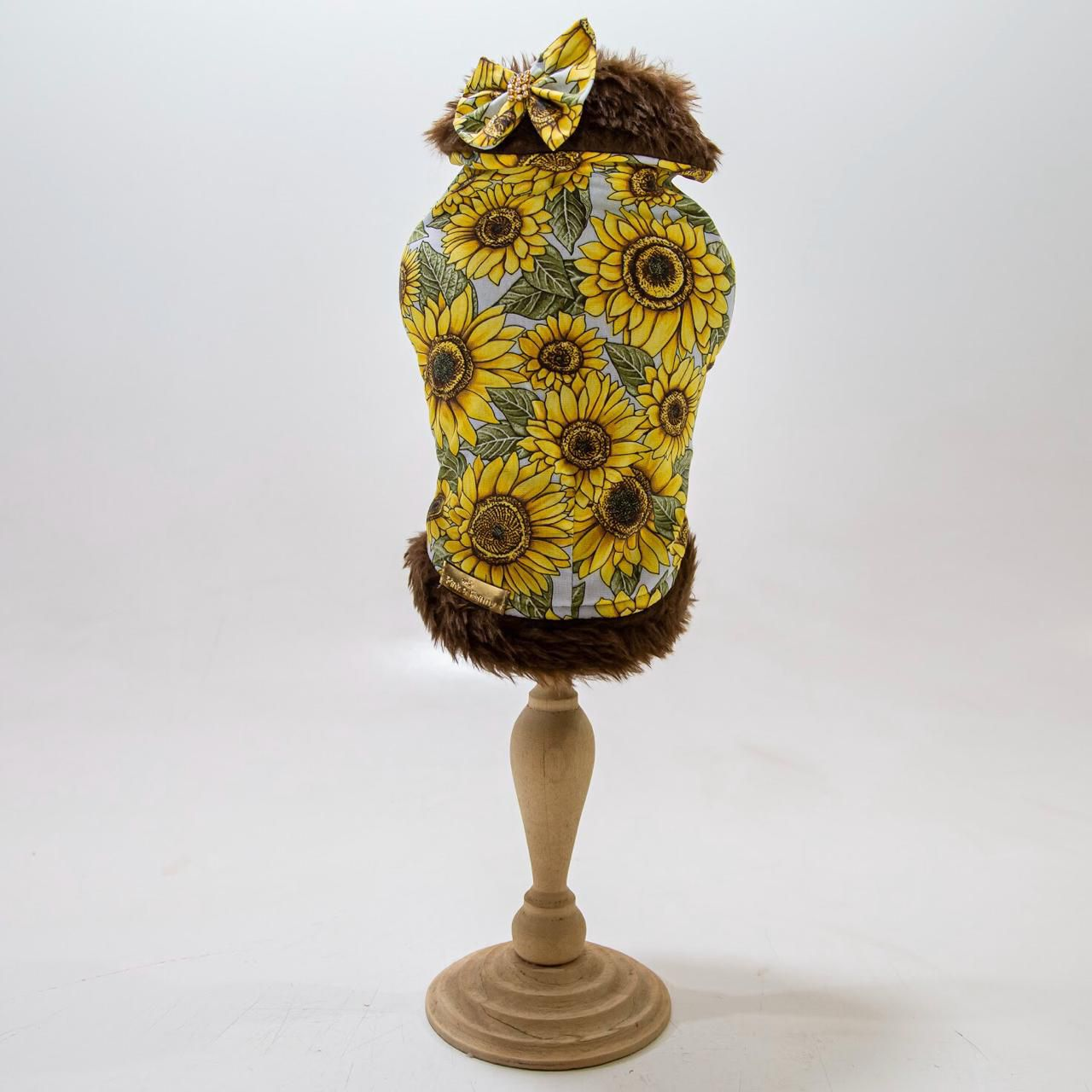 Vestido Colete Girassol