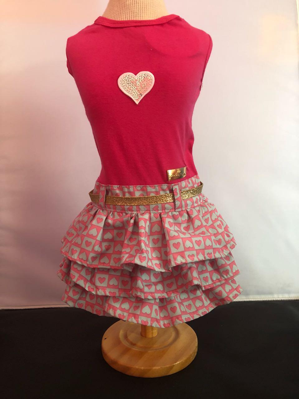 Vestido Coração