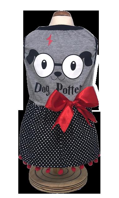 Vestido Dog Potter