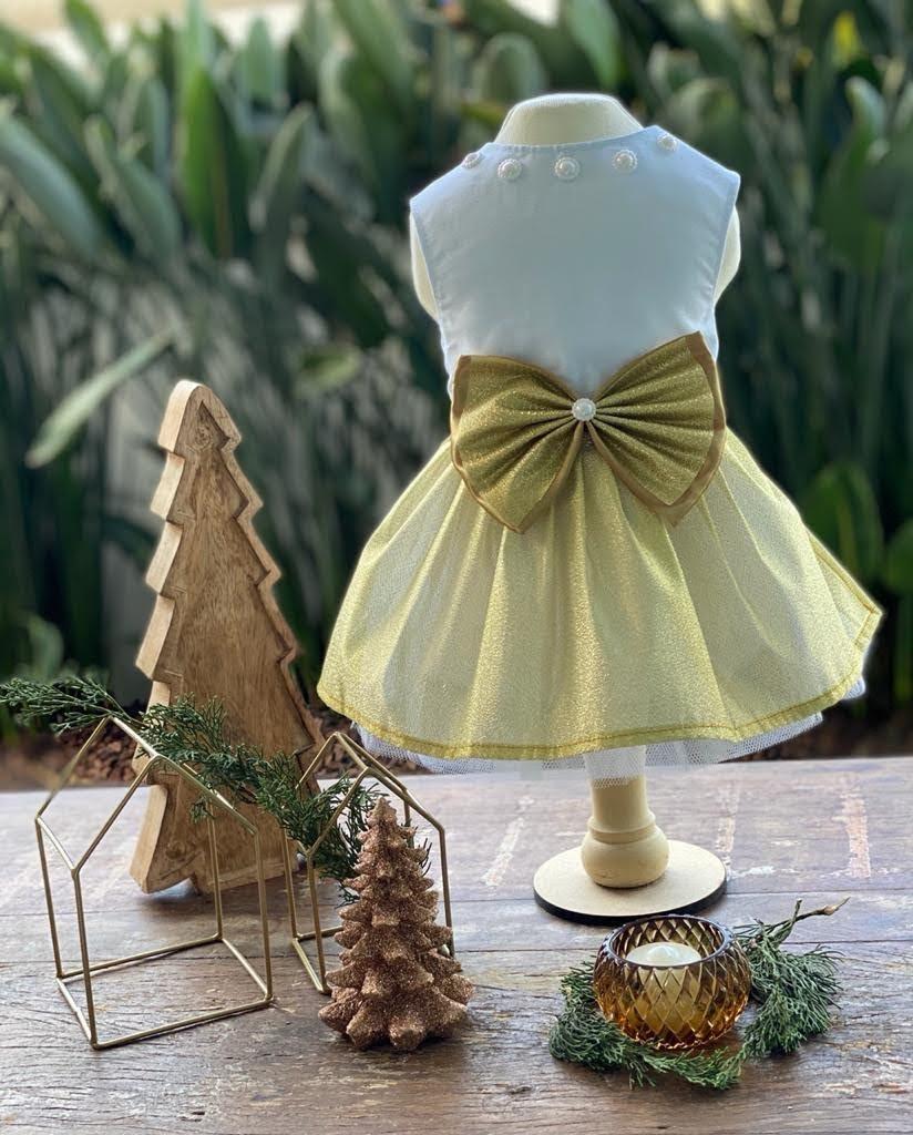 Vestido Dourado (Reveillon)