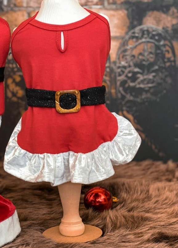 Vestido Mamãe Noel (Natal)