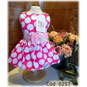 Vestido Pink com Bolas