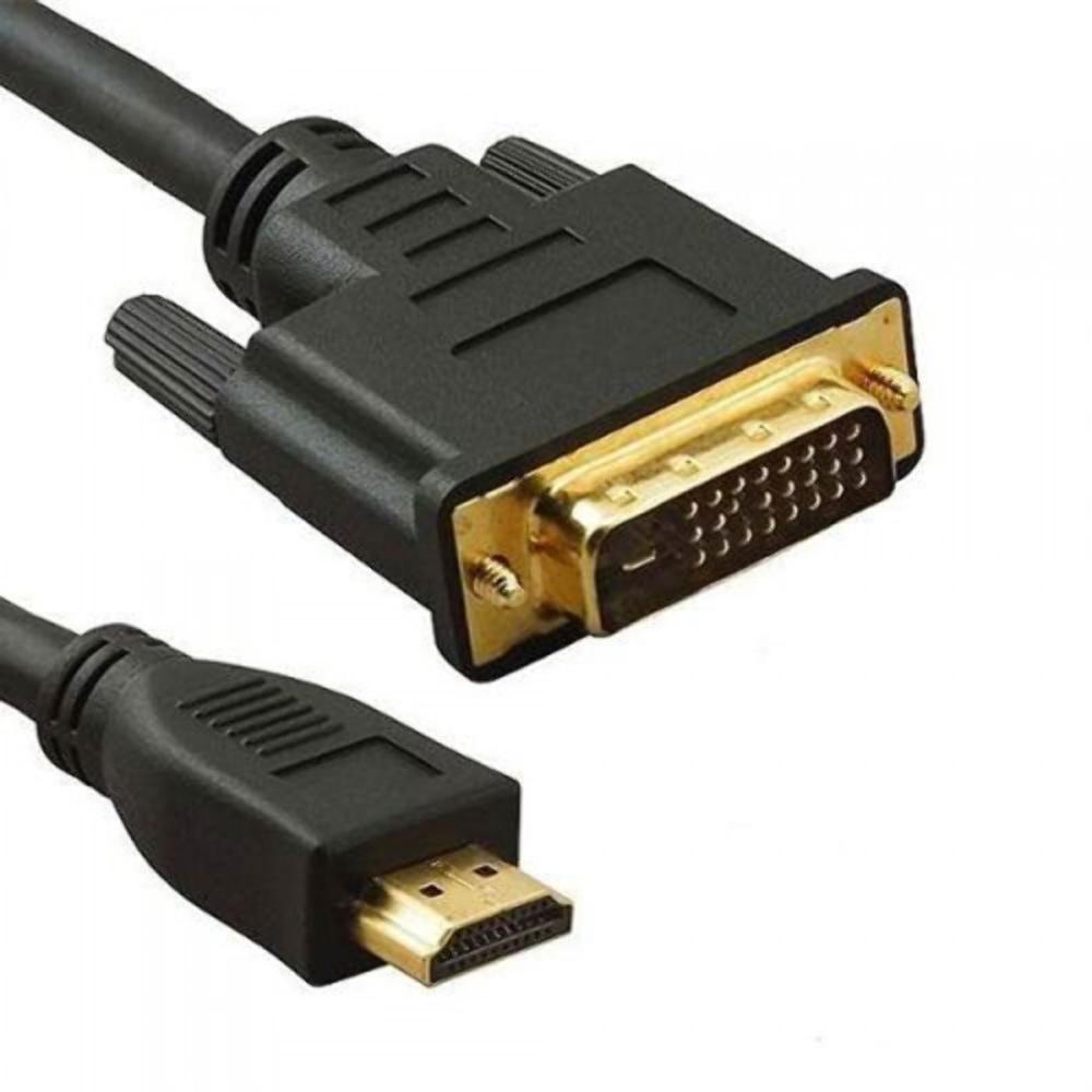 Cabo adaptador DVI para HDMI