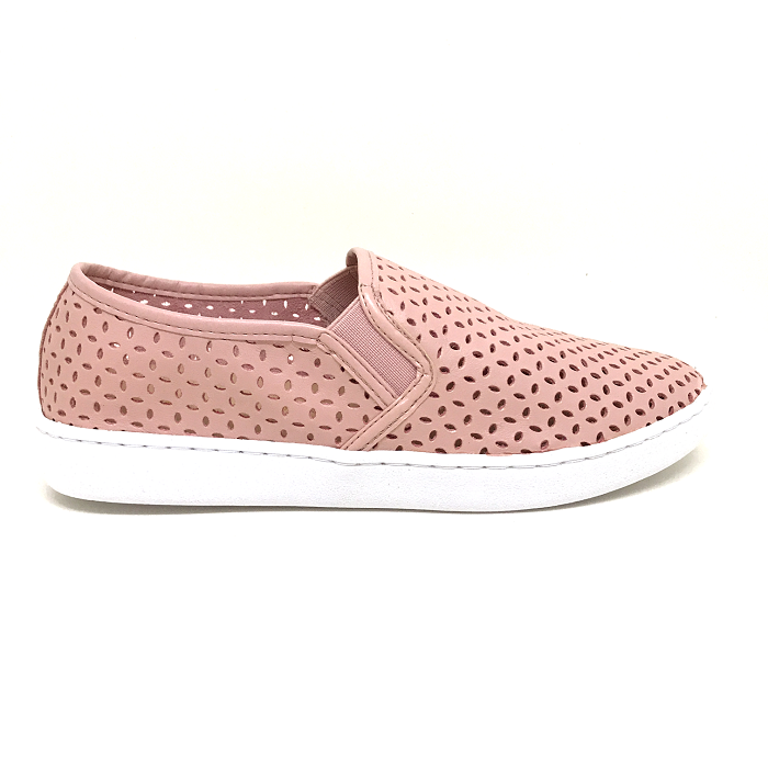 Tênis Slip On Camila Básico Candy Colors Rosa