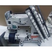 Elastiqueira 12 agulhas base cilíndrica com catraca SIRUBA VC008-12064/DVU1-0