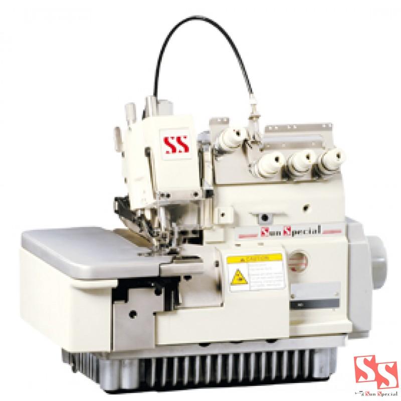 Overloque com embutidor de correntinha SUNSPECIAL SSTC-3100-3C