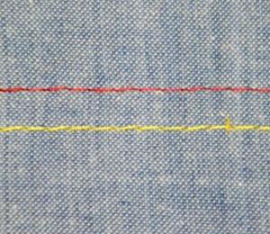 Pespontadeira lançadeira pequena barra fixa SIRUBA T828-42-064M