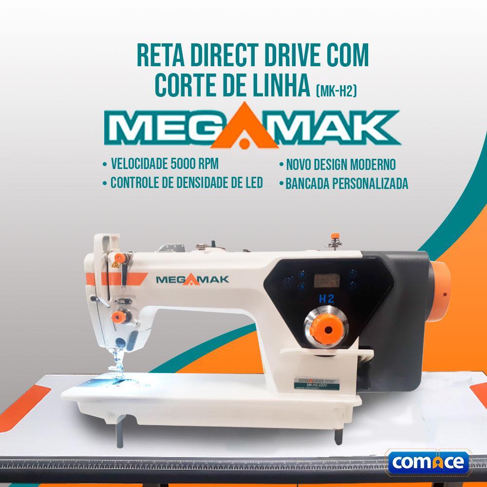 Reta Com Direct Drive Com Corte de Linha MegaMak MK-H2