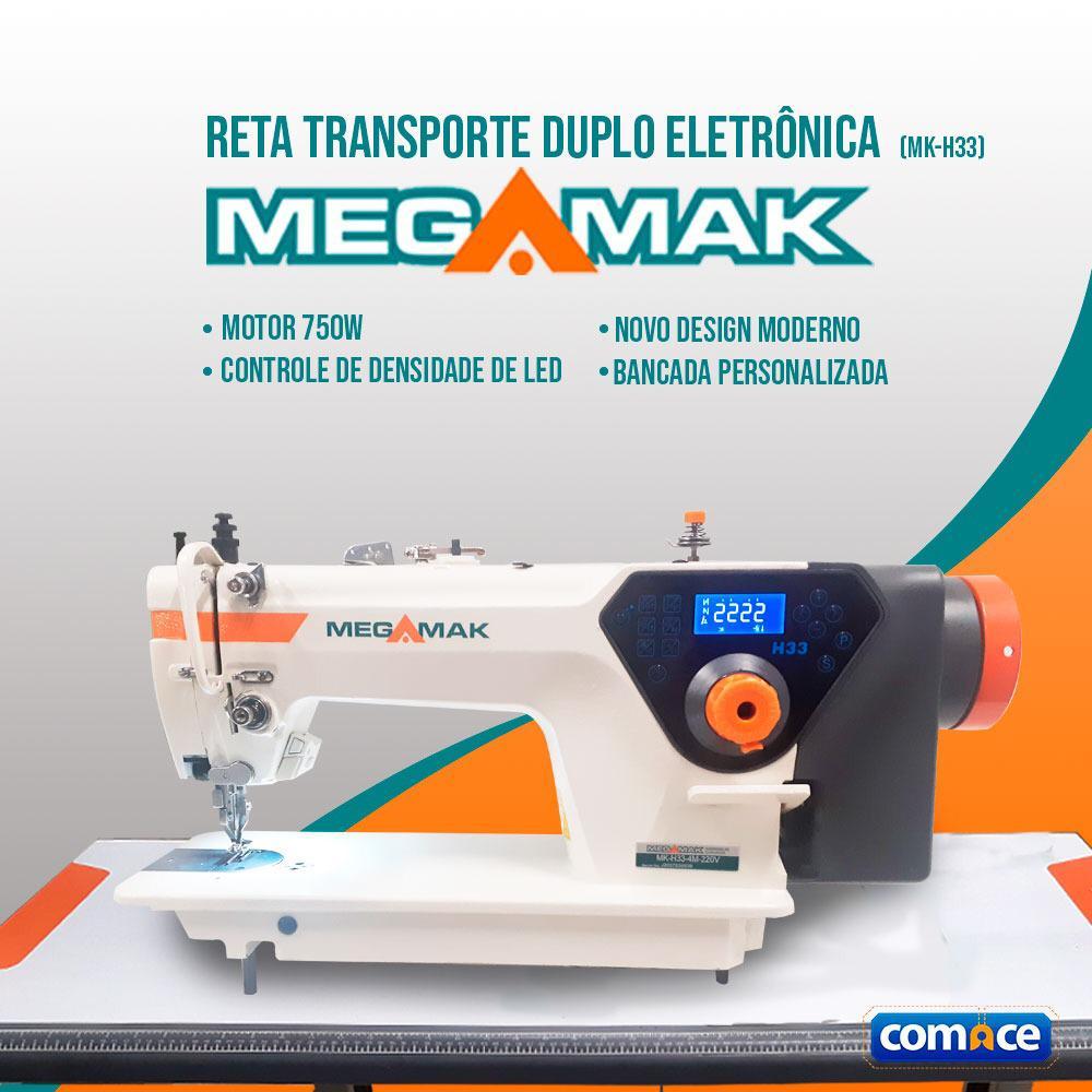 Reta Transporte Duplo Eletrônico MegaMak MK-H33