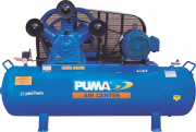 Compressor de Ar Pistão 25 Pés 10Bar 228 Lts 5,5CV Trif 220/380v Puma PB25228HT