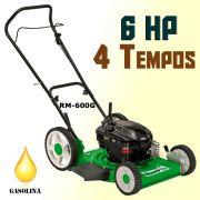 Cortador de Grama Motor à Gasolina 6 HP RM600G Trapp Saída Lateral Óleo 4 Tempos