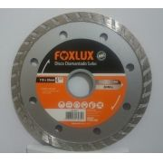 Disco Diamantado Turbo 110mm x 20mm 4 3/8 Pol. Foxlux
