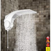 Ducha Chuveiro Duo Shower Quadra Eletrônica 127v 5500w