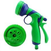 Esguicho Revolver Plástico Amanco 8 Jatos c/Engate Rápido mod 09