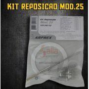 Kit Reposição Reparo Completo Pistola Pintura Modelo 25 Arprex