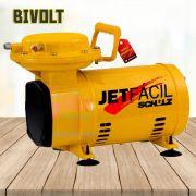 Motocompressor de Ar  Jet Fácil 1/3 Cv - SCHULZ-MS2,3 FACIL Baixa Pressão Bivolt com Kit Pintura