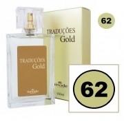 Perfume Traduções Gold Masculino Essência 212 Vip Men N62 100 ml Hinode