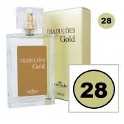Perfume Traduções Gold Masculino Essência Ferrari Black N28 100 ml Hinode