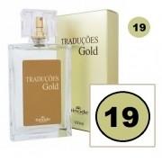 Perfume Traduções Gold Masculino Essência One 1 Million N19 100 ml Hinode