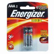 Pilha Energizer Max AAA2 1,5v Alcalina