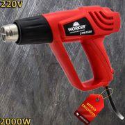 Soprador Térmico / Pistola Ar Quente 2000w Worker 220v STW1500