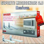 Suporte Forno Microondas Branco SBR 3.8 BrasForma