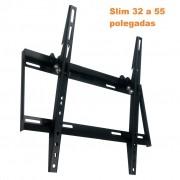 Suporte Tv Slim Lcd Plasma Led 32 a 55 pol Articulado SBRP416 Brasforma