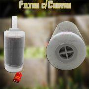 Vela Refil c/Carvão Ativado p/Filtro Forusi 9.10.0061.00