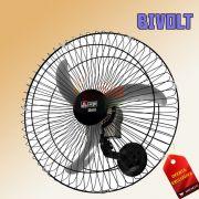 Ventilador Oscilante De Parede Twister Preto 60Cm Bivolt Arge