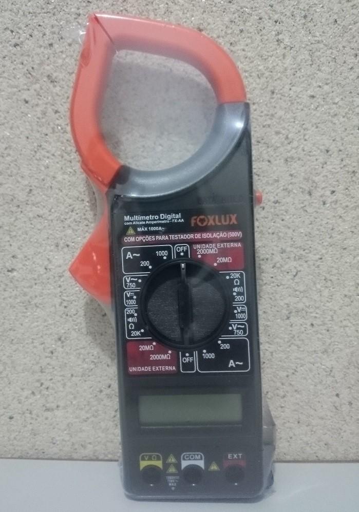 Alicate Amperímetro Digital Foxlux 3002